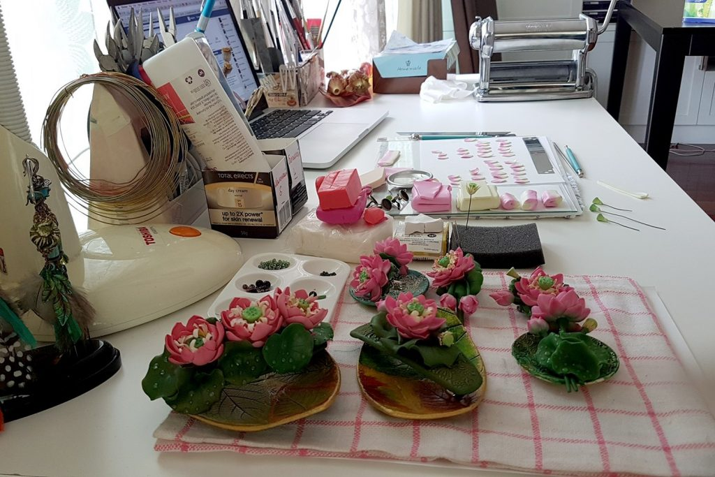 Lotus Flowers. On my table today 2