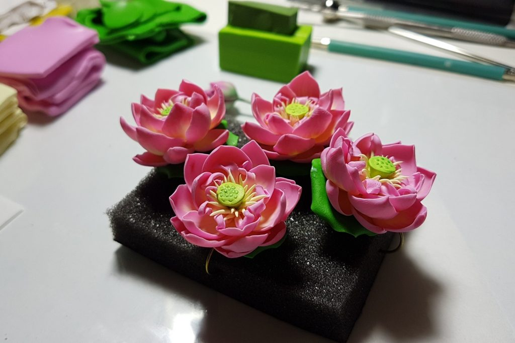 Lotus Flowers. On my table today 4