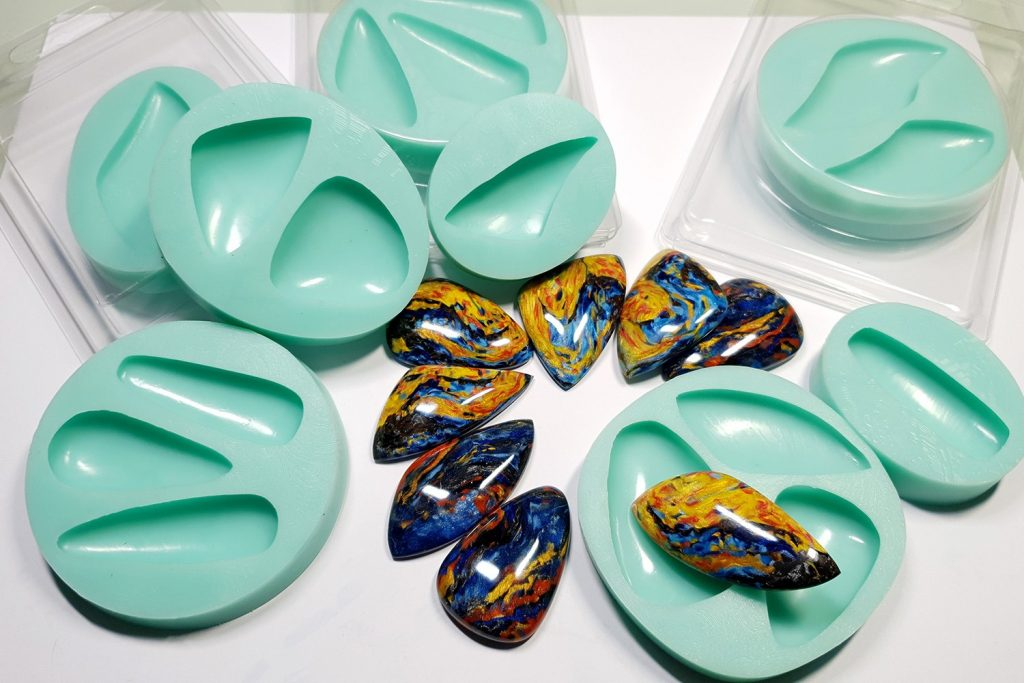 My new Stone Cabochon molds from Yaroslav's Molds 4