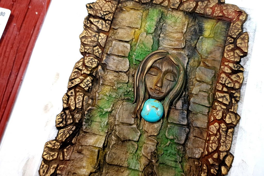 Free Tutorial: A Praying Forest Goddess for  Book Cover 4