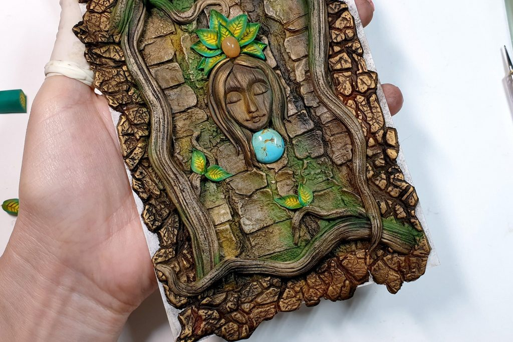 Free Tutorial: A Praying Forest Goddess for  Book Cover 7