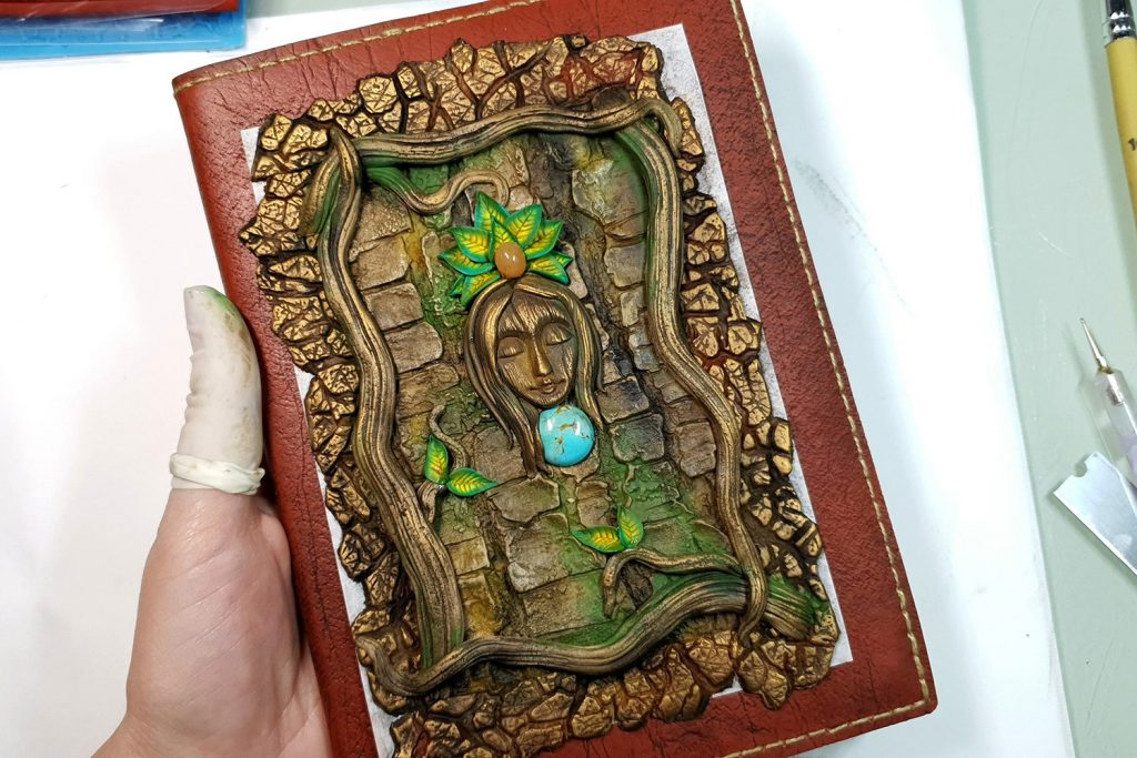 Free Tutorial: A Praying Forest Goddess for  Book Cover 8