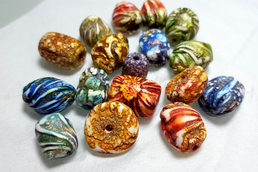 Aged Beads process. On my table today 20