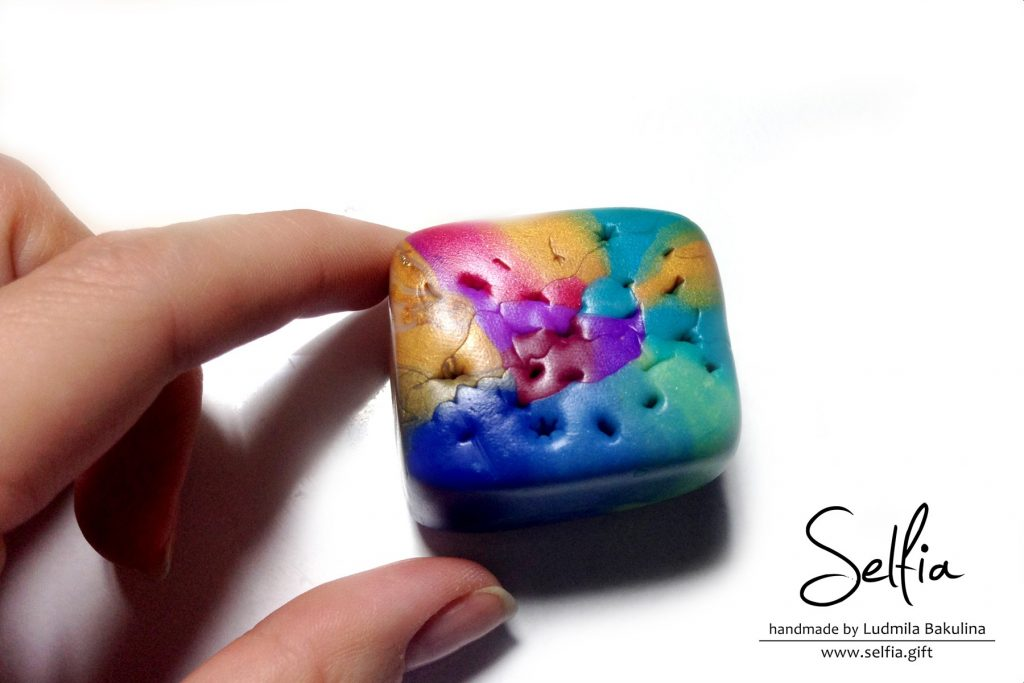 Colorful Rainbow Mokume Gane 21